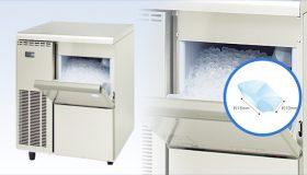 優れた節水性と省電力を備えて大量製氷、飲料用・冷却・演出に大活躍な製氷機