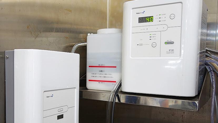 電解次亜水生成装置FEクリーン水の使い方